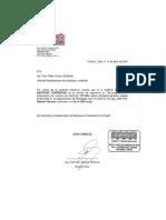 Carta de Liberacion
