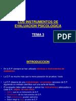 tema3losinstrumentosdeevaluacionpsicologica