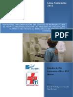 proyecto de implementacion de hospital