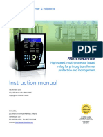 Manual de protección GE Multilin 745