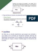 Fundamentos de Comunicaciones Filtros Pasivos y Activos_ Mezcla de Señales Abril 9 de 2011 Tema 4