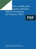 Protocolo de Actuación Sanitaria  Violencia Genero Perú