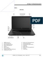 Zbook 17 g4 Mobile Workstation