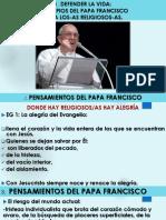 3 Defender La Vida Principios Del Papa Francisco Para Los Consagrados