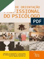 Temas de Orientação Profissional Do Psicólogo