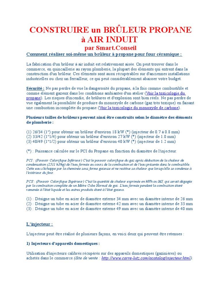 Bruleur Gaz Smartconseil Combustion Condensation