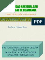 Factores Pre Cosecha