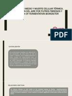 Esterilización Medio y Muerte Celular Térmica Parte1