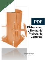 Rotura de probetas de concreto