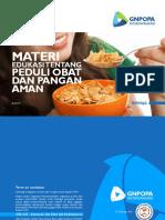Brosur informasi BPOM