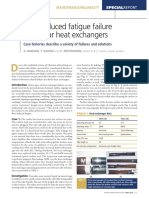 Flow-Induced Fatigue Failure in Tubular Heat Exchangers