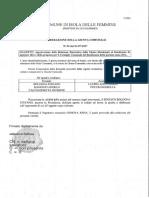 2017 31 Luglio Delibera Giunta 94 Bologna Sindaco Stefano Maggiore Antonino Croce Capo Ragioneria Relazione Bilancio Consuntivo 2016