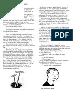 Les Champignons - Sacha Guitry  ( Mémoires d'un tricheur)