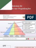 Tipos de sistemas de informação nas organizações