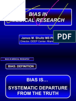 Sources of Bias 2016