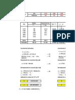 Abastecimiento - Metodo de Los Minimos Cuadrados - Cap Perù