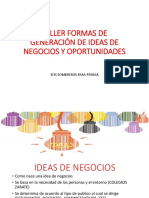 5ta Ideas de Negocios y Seis Sombreros Para Pensar 9no