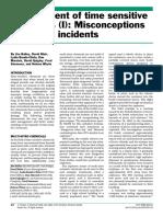 Management of Time Sensitive Chemicals - Part i