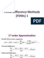 Finite Difference Methods