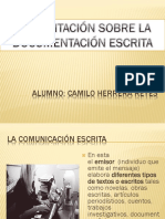 Documentos Escritos laborales