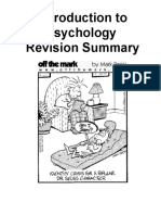 exam revision booklet - intro to psych