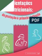 Cartilha Orientacoes Nutricionais Da Gestação a Primeira Infância
