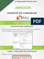 CFJ B Ejercicio Manejo de Variables