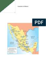 Invasión en México
