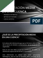7. Precipitación Media en Una Cuenca