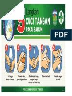 5 Langkah Cuci Tangan