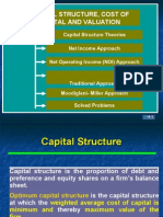 Capital Structure and Valuation