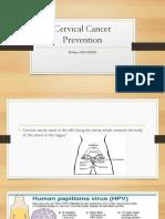 cervical cancer prevention