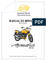 Manual Servico DAFRA APACHE 150