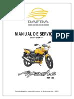 Manual Servico DAFRA APACHE 150