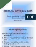 Berbagai Distribusi Data