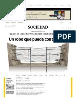 Huaicos en Lima_ Barreras Pueden Ceder Ante Robo de Piezas _ Lima _ Sociedad _ El Comercio Peru