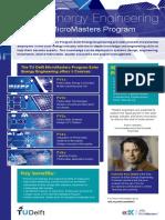 MicroMasters Solar Energy Engineering TU Delft Leaflet