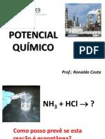 Aula 2 - Sistema de Composição Variavel - Equilibrio Químico