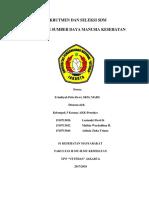Msdm Kel 5-Rekrutmen Dan Seleksi Sdm