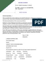 5. Lorenzo Shipping Corp. v BJ Marthel International Inc. G.R. 145483 Nov 19 2004