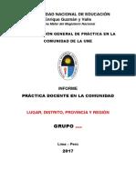 Orientaciones Generales Para Resolver El Informe Final - Pc - 2017-II