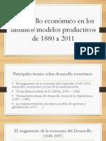 Desarrollo en Argentina