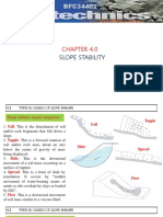 CHAPTER 4 Slope Stability