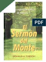 D. A. Carson - El Sermón Del Monte.pdf