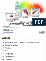 LED Professional Designing Light Pipes and Guides 051215