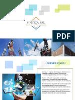 Brochure Sintica Brochure