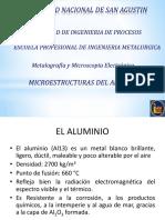 Microestructuras Del Al, Pb, Sn II Reg