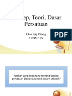 Konsep & Teori Persatuan (2)