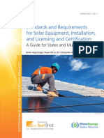 Standards and Requirements for Solar