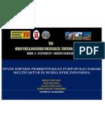 Studi Empiris Pembentukan Portofolio Saham Multifaktor Di BEI